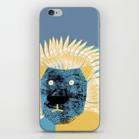 leon iPhone & iPod Skins featuring Lion leon by yael frankel