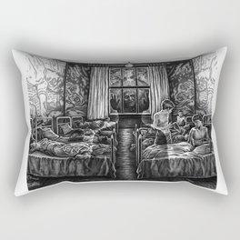 Awakening (Concept Sketch) Rectangular Pillow