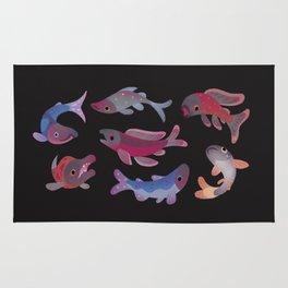 Salmon - dark Rug