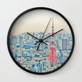Tokyo tower Wall Clock