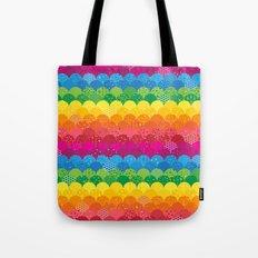Waves of Rainbows Tote Bag