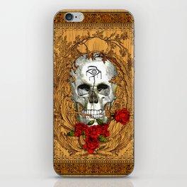 Red King Skull - The Dark Tower Inspiration iPhone Skin