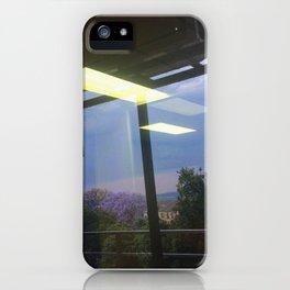 #160photo #177 #Thunder and #Rain today /  #BeautifulSolitude / #Jacarandas #LightReflection iPhone Case