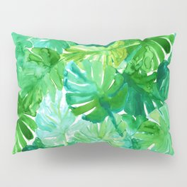 Welcome to the Jungle Palm Pillow Sham