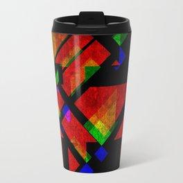 Abstract Time, No. 4 Travel Mug