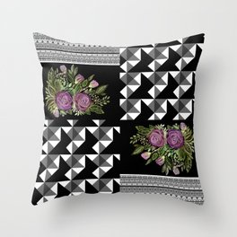 Bouquet of roses 3 Throw Pillow
