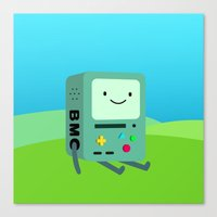 beemo Canvas Prints featuring Beemo by Ashtn