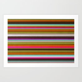 Colored Lines Art Print
