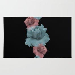 Glitch Roses Rug