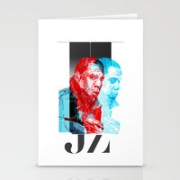 jay z Stationery Cards featuring JAY-Z by michael pfister