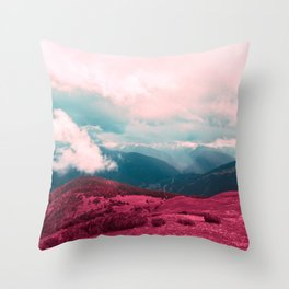 Leave Behind Throw Pillow