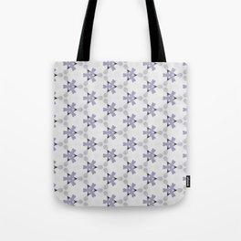 Multi Purple Pattern Design Tote Bag