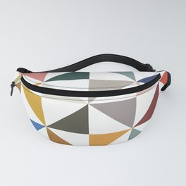 Quilt Square - Pinwheel Fanny Pack