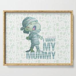 Mummy - Drawlloween2018 Serving Tray