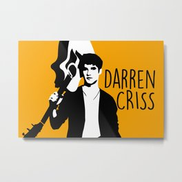 Darren Criss with guitar! Metal Print