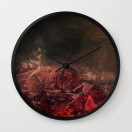 Morphing Mars Wall Clock