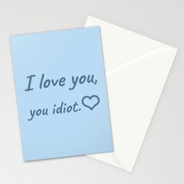 The Romantic Quote Stationery Cards