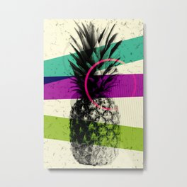 Collective Pineapple Metal Print
