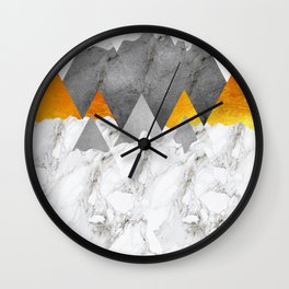 Defined by its Texture Wall Clock