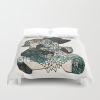 nordic Duvet Covers featuring Nordic collage by a.r.r.p.