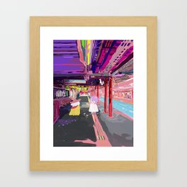 Inari Station Framed Art Print