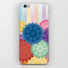 Between The Flowers iPhone & iPod Skin