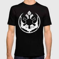 Rebel Empire Mens Fitted Tee Black LARGE