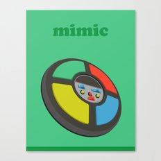 The Mimic Canvas Print