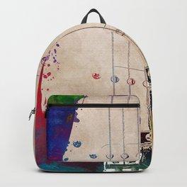 Guitar art 10 #guitar #music Backpack
