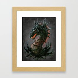 Regal Dragon Framed Art Print