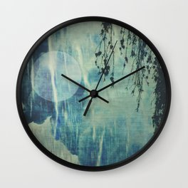 dreaming under the birch Wall Clock