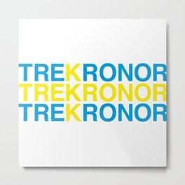 TRE KRONOR Metal Print