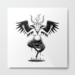 fun baphomet Metal Print