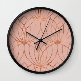 geometric i x iii Wall Clock