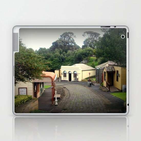 Maritime Village Laptop & iPad Skin