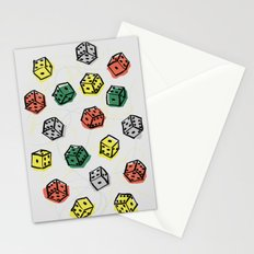 Roll the dice Stationery Cards