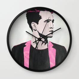 Brendon Urie Chine Colle Print Wall Clock