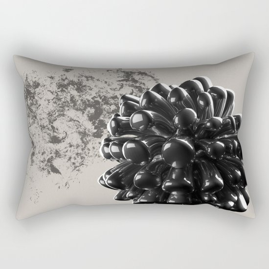 Graphite Rectangular Pillow