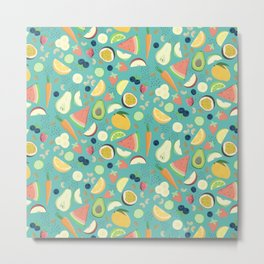 Eat your fruit and vegetables Metal Print