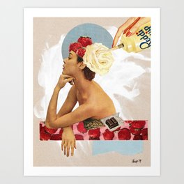 Sugar High Art Print