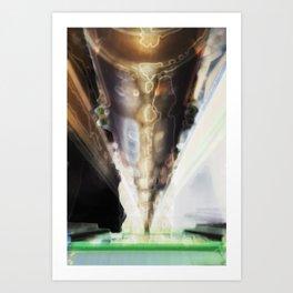 Barrelling Art Print