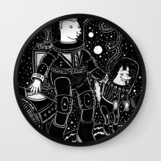 nostalgia espacial Wall Clock