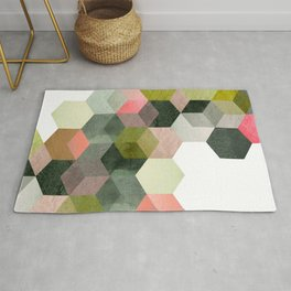 ABSTRACT GEOMETRIC COMPOSITON I Rug