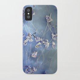 winter lotus iPhone Case
