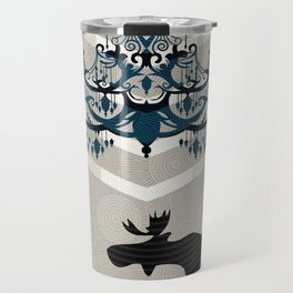 A Moose finds home Travel Mug