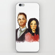 elementary: holmes and watson iPhone Skin