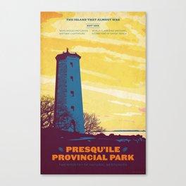 Presqu'ile Provincial Park Canvas Print