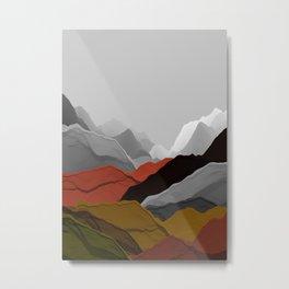 Beautiful Mountains 7 Metal Print