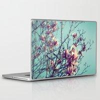 vintage flowers Laptop & iPad Skins featuring Vintage Flowers by ALP-Fotografie