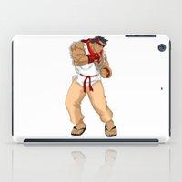 street fighter iPad Cases featuring Street Fighter Andres Bonifacio by Cesar Cueva